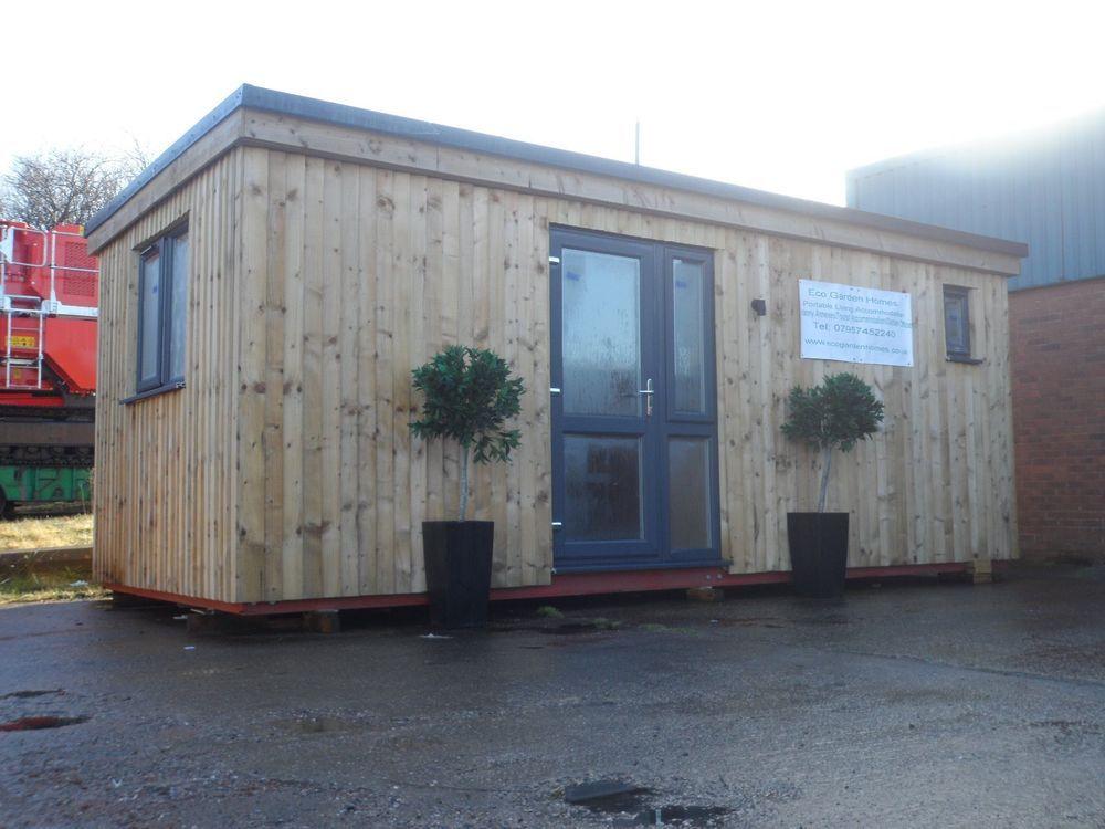Granny AnnexeGarden OfficeGarden StudioStatic CaravanLog CabinPark Home