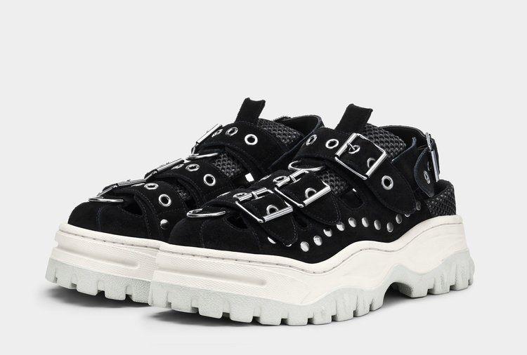 Eytys Athena Suede Black   Sneakers