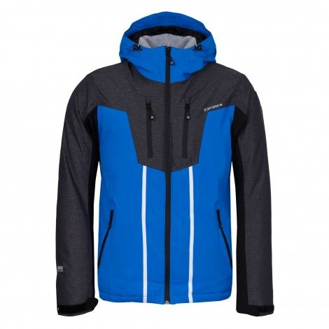#Icepeak Nicolas blauwe #winterjas voor mannen