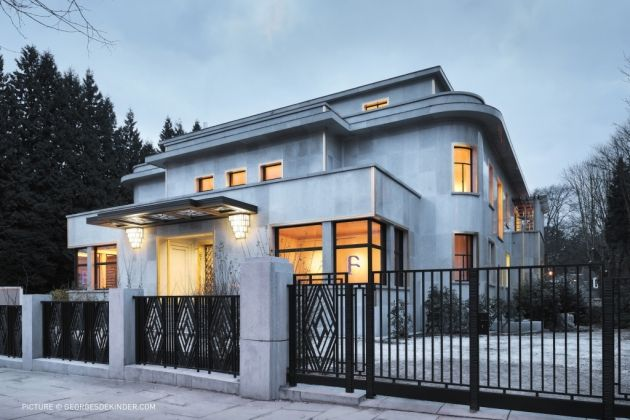 the villa empain is an example of art deco architecture in brussels ...