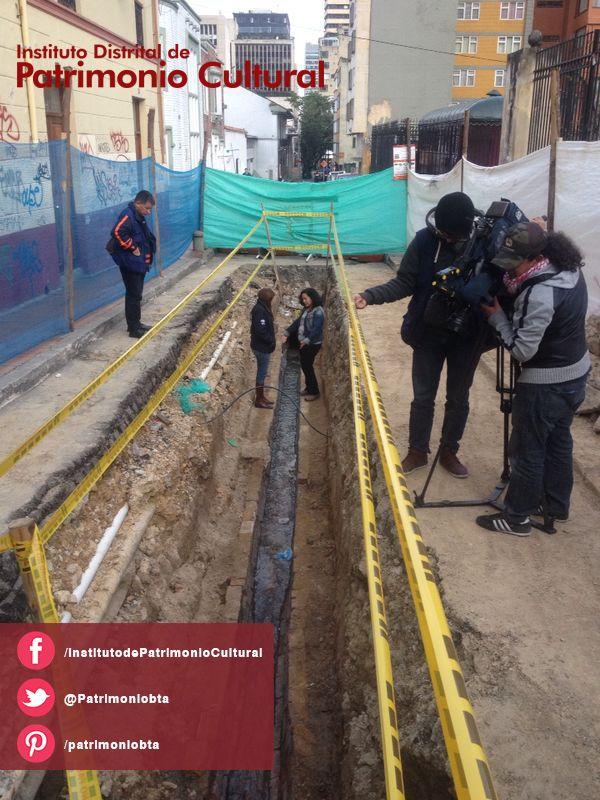 El Instituto Distrital de Patrimonio Cultural –IDPC- adelanta los diseños para la rehabilitación de un hallazgo arqueológico en el Centro Tradicional de Bogotá, además, presta apoyo técnico y acompañamiento especializado con el fin de adelantar labores de investigación, conservación y registro del hallazgo.