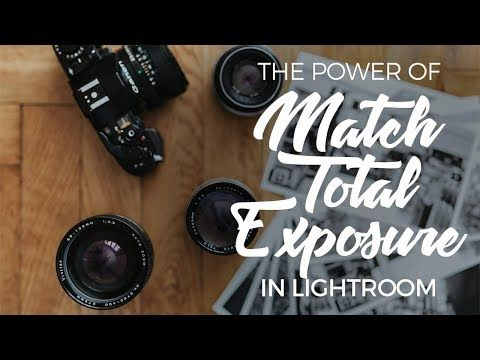 Lightroom match exposure