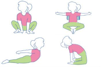 4 easy yoga poses to do at home in 15 minutes  yoga for