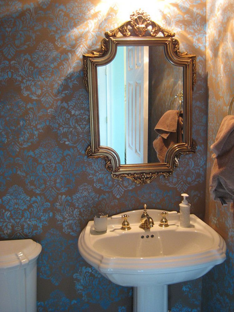 Pic On PHOTOS Inspiring Powder Rooms