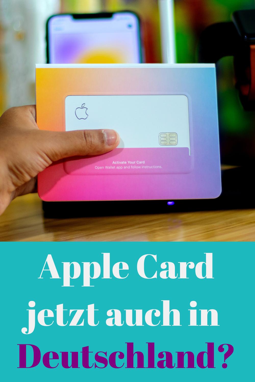 Apple Card Nun Auch In Deutschland Verfugbar Kreditkarte Karten Kredit