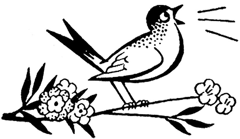 2 Cute Retro Bird And Worm Clip Art Images The Graphics Fairy In 2021 Graphics Fairy Clip Art Art Images