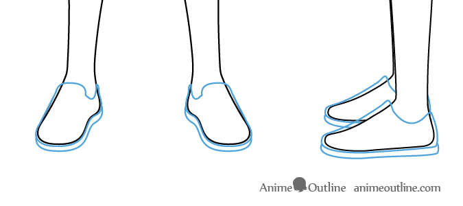 Anime Boy Shoes Drawing Shoes Drawing Boy Shoes Anime Boy