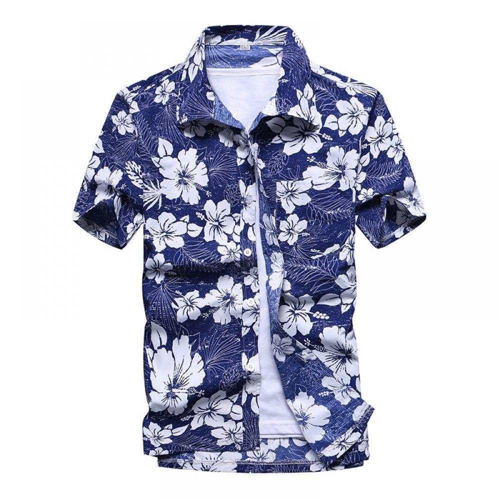 Jotebriyo Mens Shirts Casual Solid Long Sleeve Button Up Loose Shirt Top