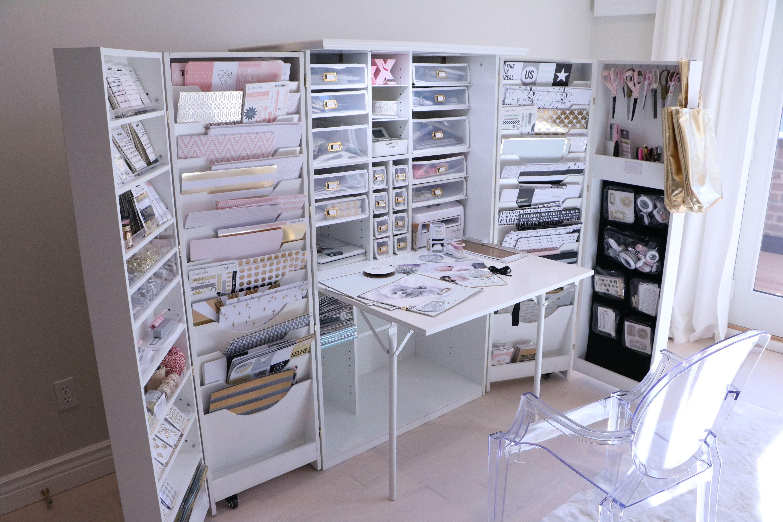 Craft Organizing Cabinet