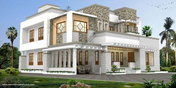 Kerala style house exterior designs