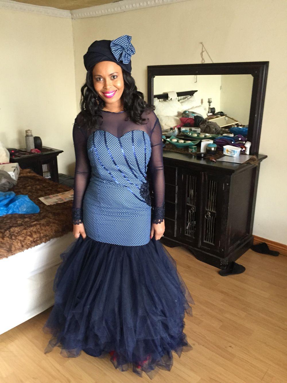 Modern Xhosa Traditional Wedding Dresses