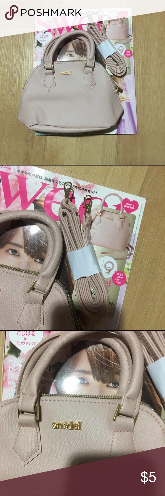 Brand new nude pink Japanese Snidel mini bag Brand new nude pink Japanese Snidel mini bag with strap snidel Bags Mini Bags