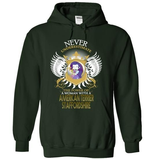 AMERICAN TERRIER STAFFORDSHIRE - #christmas tee #college hoodie. PRICE CUT  => https://www.sunfrog.com/Funny/AMERICAN-TERRIER-STAFFORDSHIRE-8761-Forest-14605221-Hoodie.html?id=60505