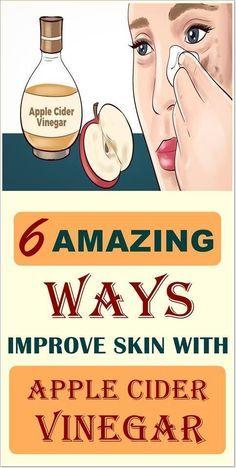 How Apple Cider Vinegar Benefits Your Hair, Skin A