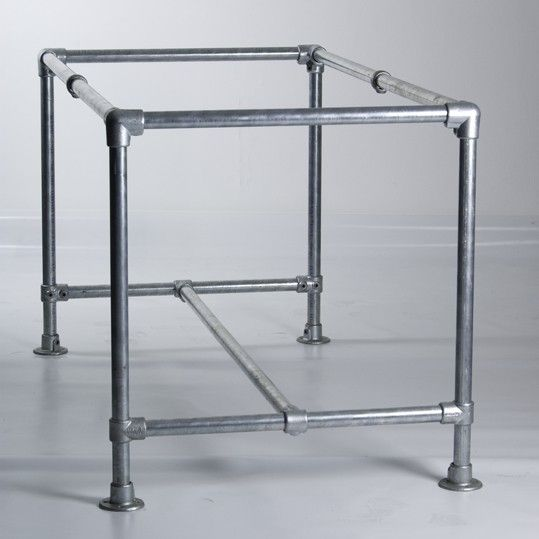 Pipe Table Frame | crafts i wish to do | Pinterest | Pipe table ...