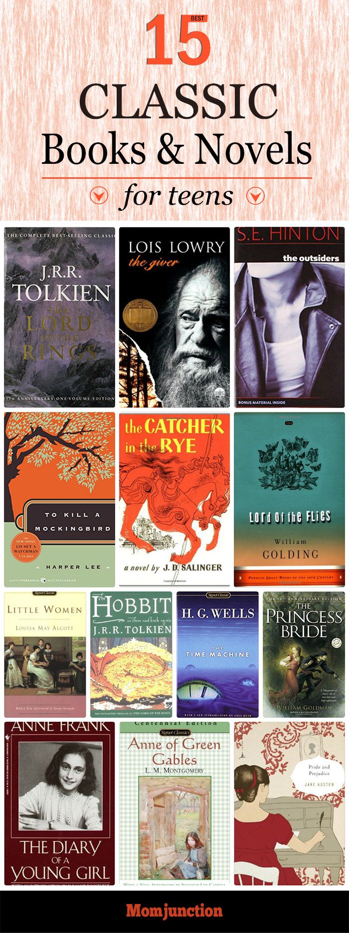 15 Best Classic Books For Teens To Read Books For Teens Best Classic Books Books
