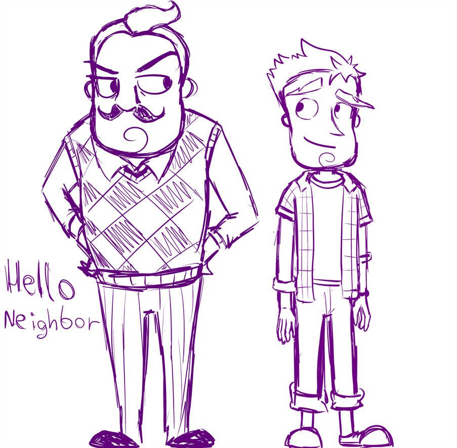 hello neighbor by abrilk | Hello Neighbor | Hello neighbor game