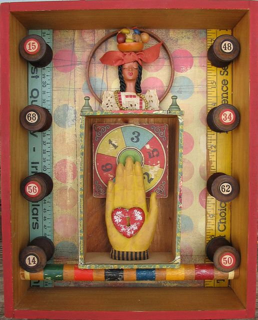 ★ Fortune Teller  --  Another AWESOME piece by Artsy Muse on Flickr