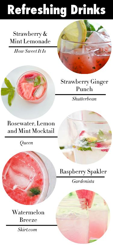 Cool Down With These Drinks - Cocktails from College Prepster