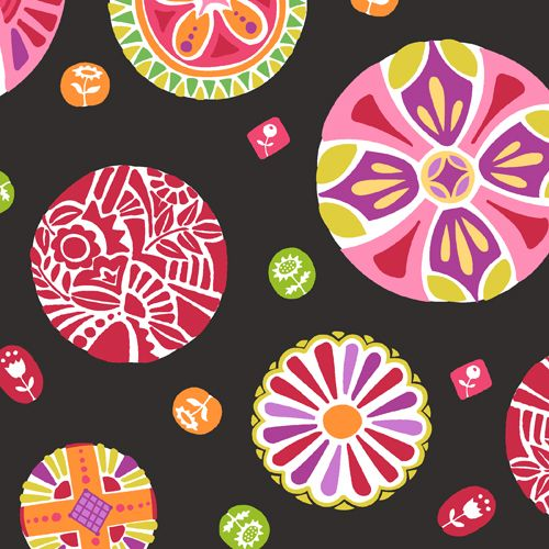 Andover Fabrics - Round the Garden Collection by Mary Engelbreit  Available: October, 2012