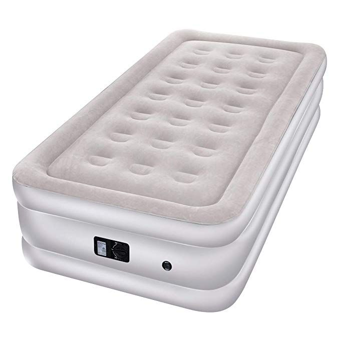 super popular cb080 2c967 TOPELEK Air Mattress, Twin Size Airbed with Built-in ...