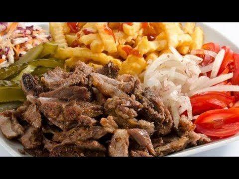 شاورما اللحمة طريقة تحضير شاورما اللحمة المنزلية باسهل واطيب خلطة Youtube Egyptian Food Lebanon Food Syrian Food