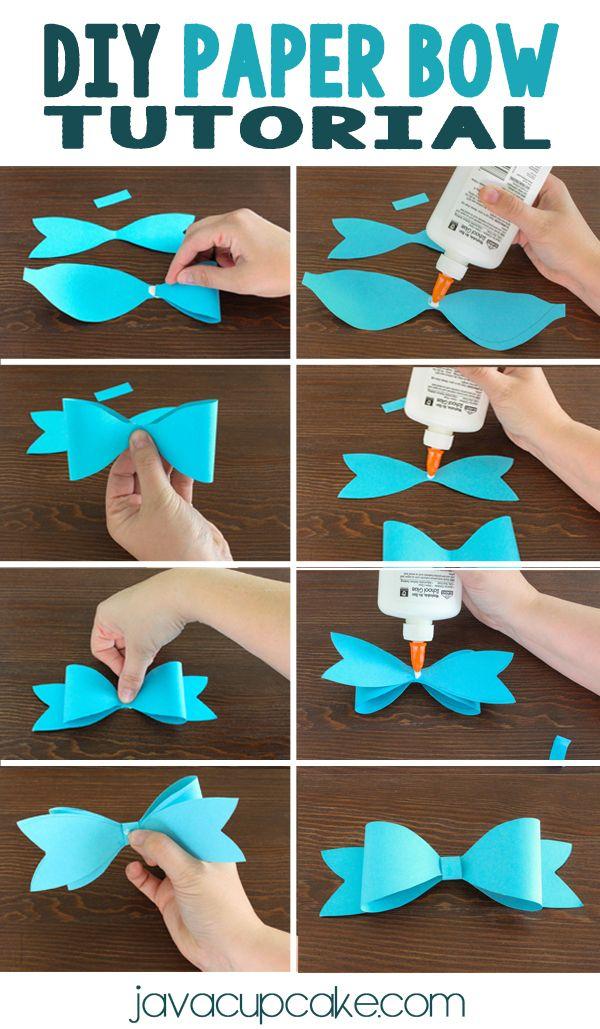 Handmade: Tutorial: Origami Ribbon Bow | 1029x600