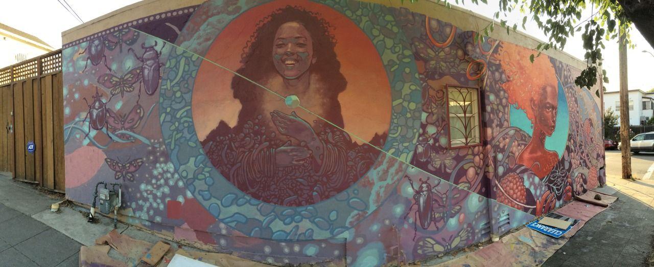BEACON Mural Project, Mural 1, Oakland CA