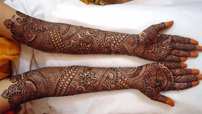latest dulhan mehndi designs