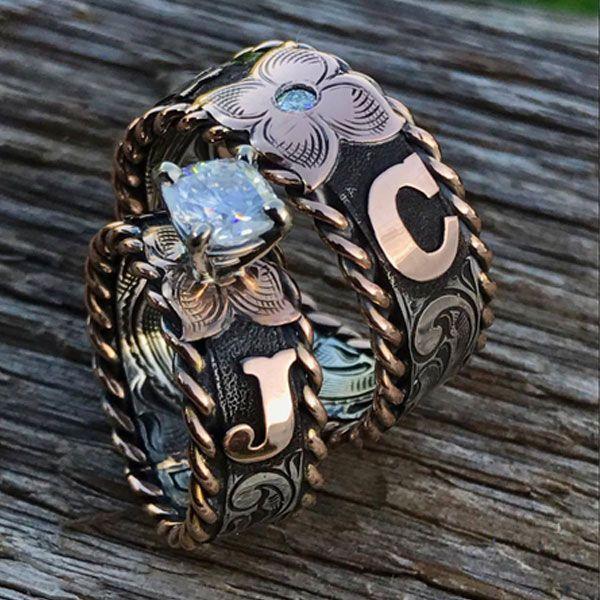 Cowgirl Wedding Ring Inspiration Western Wedding Rings Wedding Rings Unique Big Wedding Rings