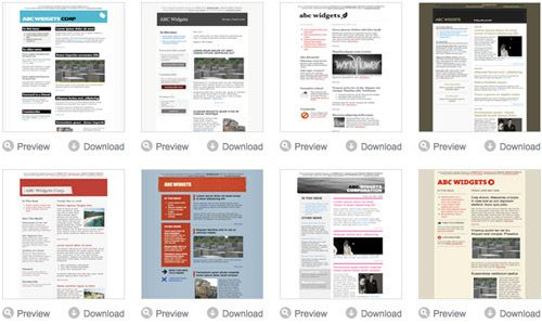 excellent html newsletter templates best of