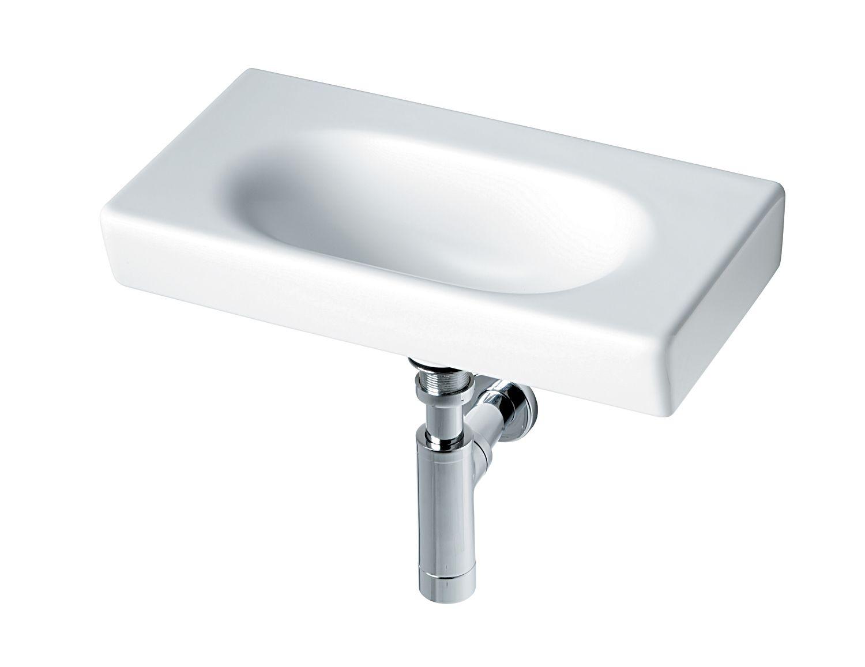 ideal standard tonic guest 50cm wall hung basin no tap hole en ideal standard tonic guest 50cm wall hung basin no tap hole