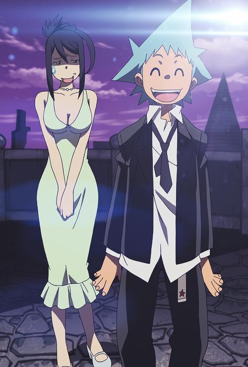 tsubaki nakatsukasa and black star soul eater