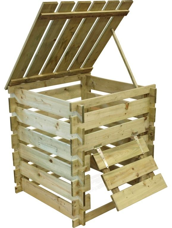 10 easy pieces wood compost bins