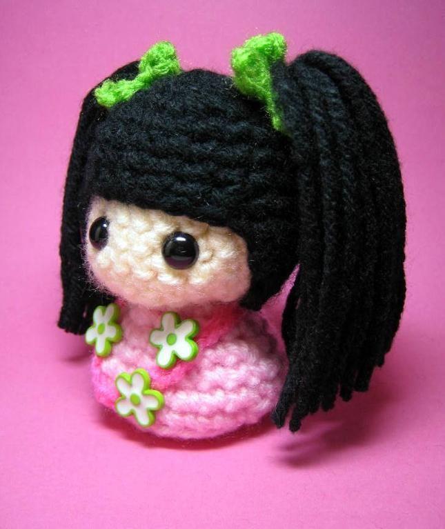 Amigurumi Kokeshi Doll Pattern here www.ravelry.com/patterns ... | 767x645