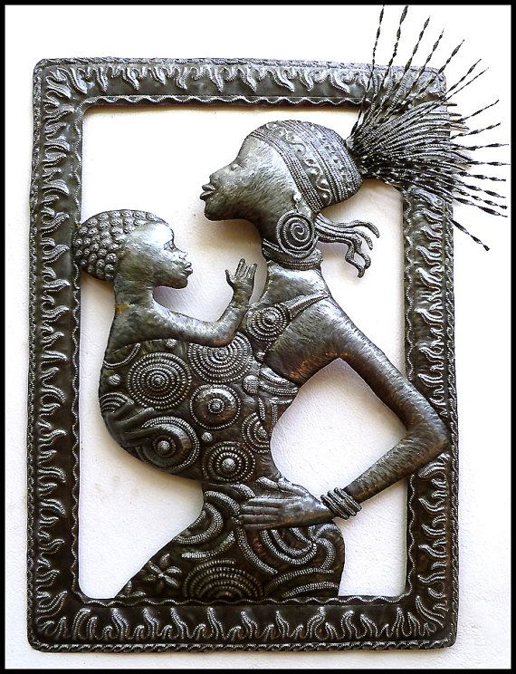 Pin On Haitian Steel Drum Metal Art Haitian Art