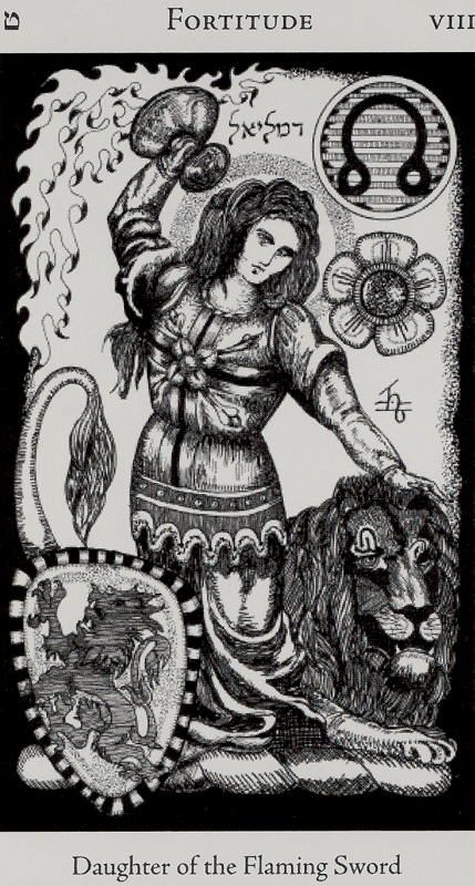 Image result for hermetic tarot strength