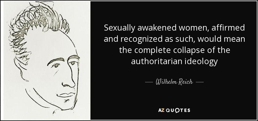 sexually awakened woman
