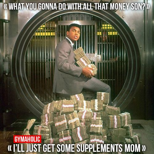What You Gonna Do With All That Money Son Fitness Revolution -> http://www.gymaholic.co/supplements #fit #fitness #fitblr #fitspo #motivation #gym #gymaholic #workouts #nutrition #supplements #muscles #healthy