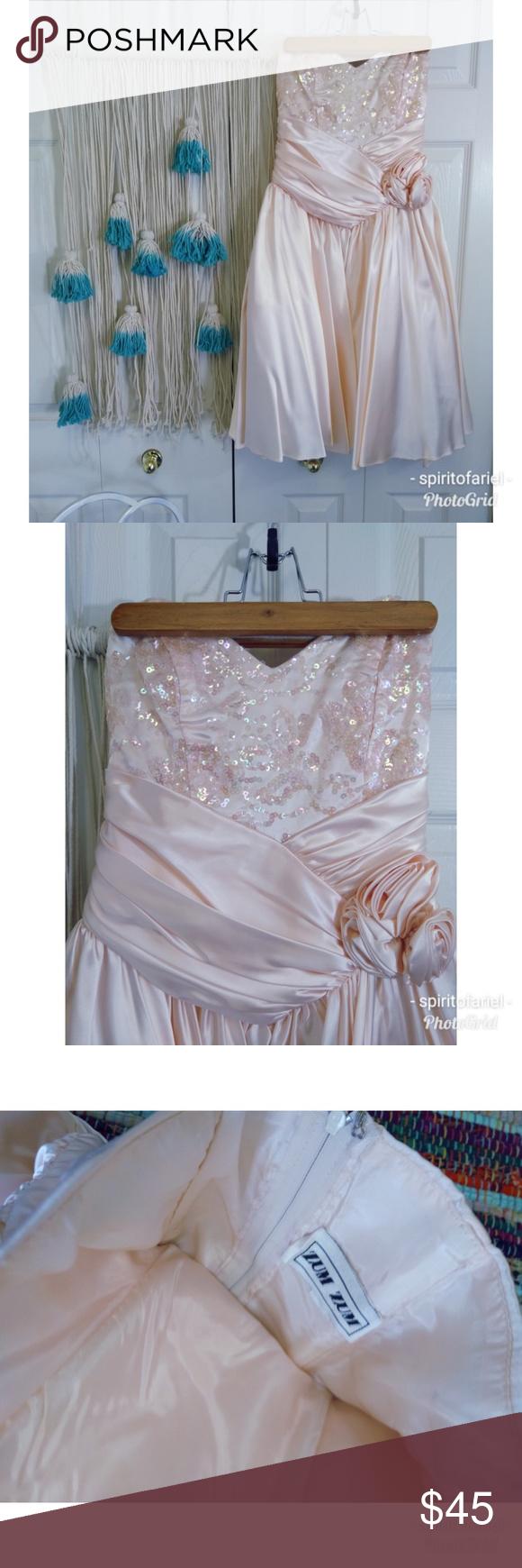 Adorable s peach sequin prom dress sequin prom dresses full