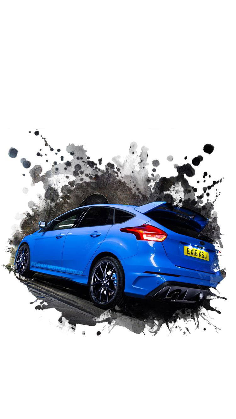 Universal Super Car Sports Car Phone Wallpapers Backgrounds Nitrous Blue Focus Rs Iphone Htc Samsung Sony Lg Huawei Nokia Google Sports Car