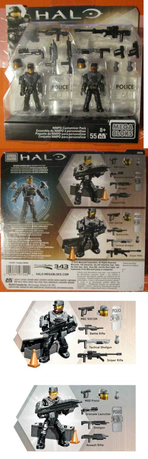 Mega Bloks Building Toys 52338: New! Halo Mega Bloks Nmpd