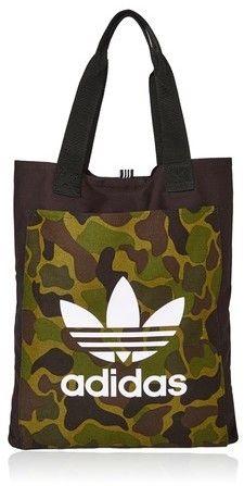 Black Canvas Shopper Bag by Adidas | My Favourite Fashions ...