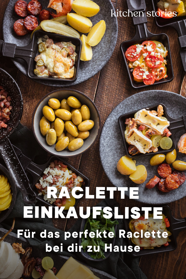 Photo of Raclette ingredients: shopping list and tips