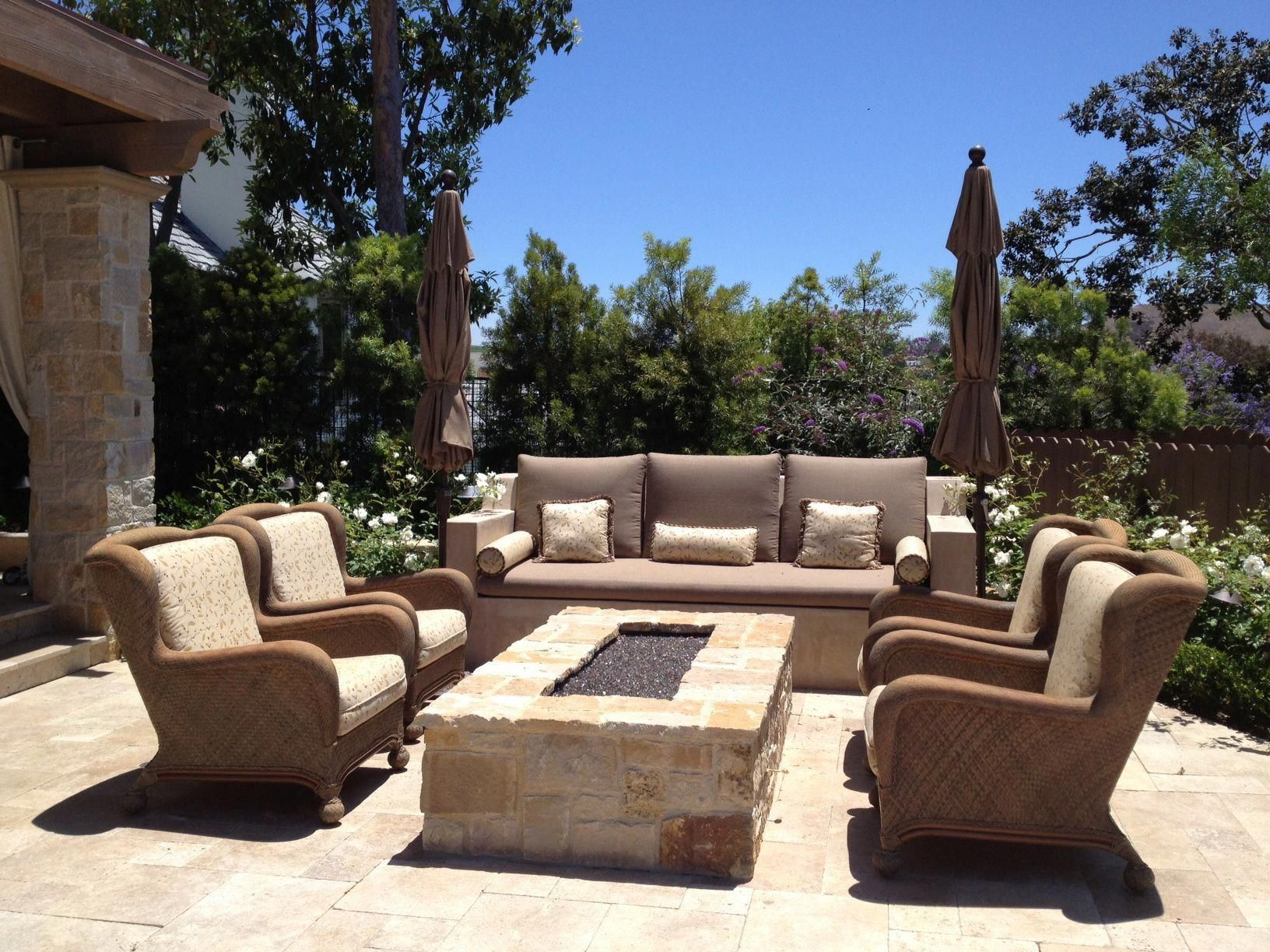 "Photo of Find out additional information on ""fire pit backyard landscape"". Check out our …"
