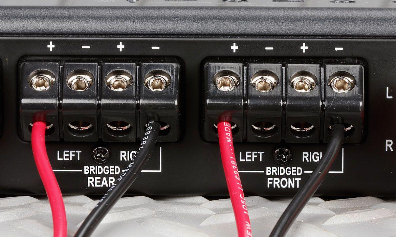 How To Bridge A Car Amplifier Custom Car Audio Diy Car Audio Subwoofer Wiring
