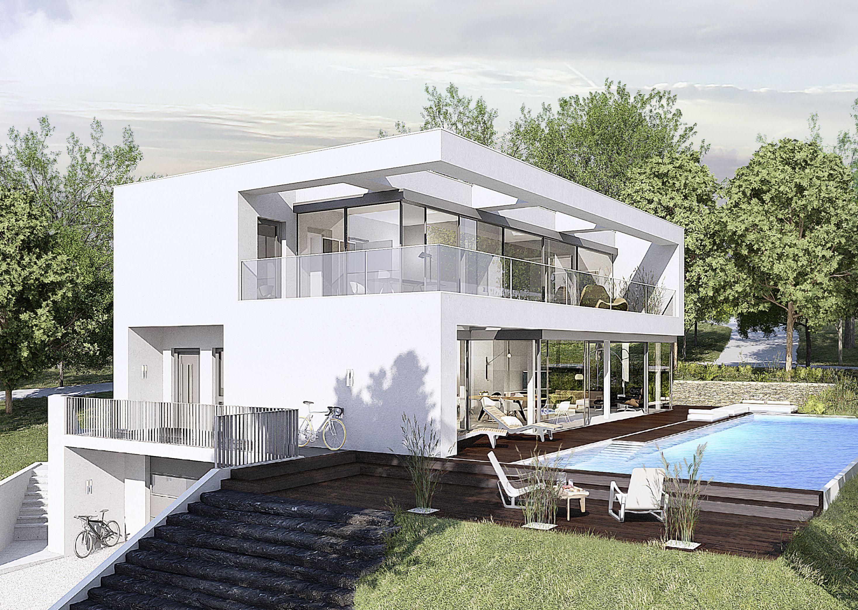 in weiteres Haus, welches im Kundenauftrag von OKL Haus geplant ...