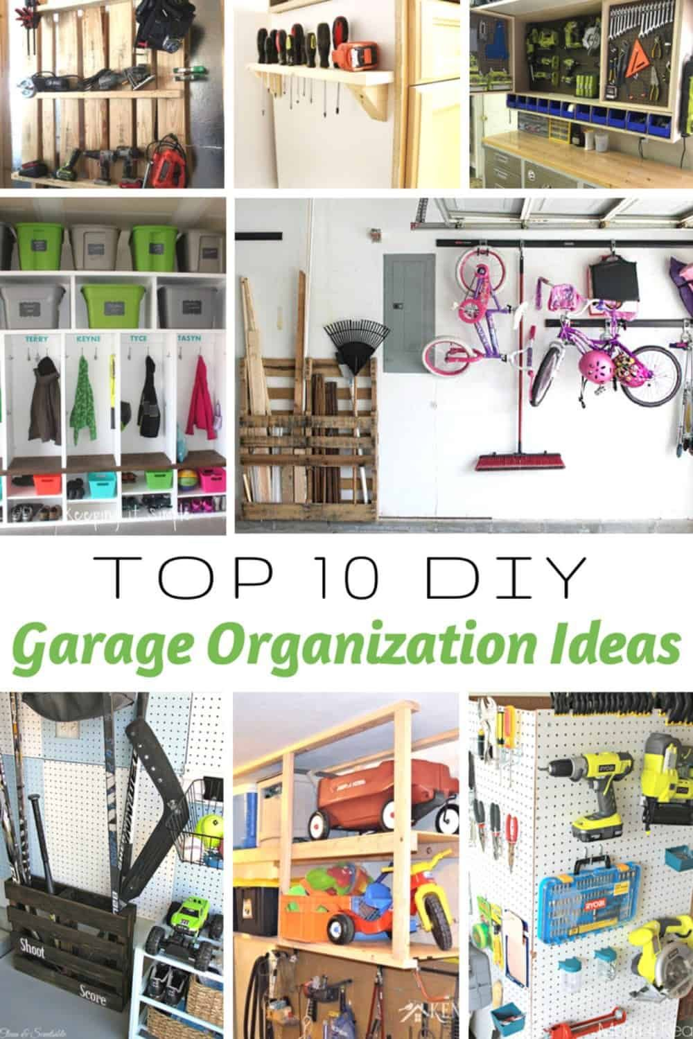 9 Most Awesome DIY Garage Organizing Systems In The World | Favorite ...