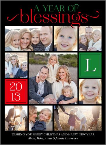 Year of blessings 6x8 stationery card by petite lemon shutterfly year of blessings 6x8 stationery card by petite lemon shutterfly m4hsunfo