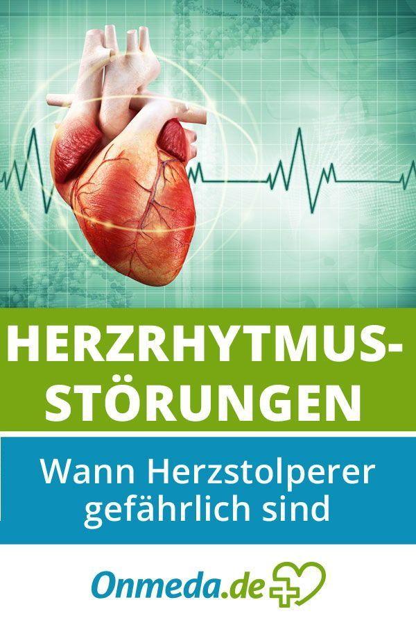 Herzrhythmusstörungen: Symptome, Ursachen & Behandlung..